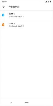 Nokia 3.1 Plus - Android Pie - voicemail - handmatig instellen - stap 7