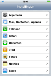 Apple iPhone 4 - Contacten en data - Contacten kopiëren van SIM naar toestel - Stap 3