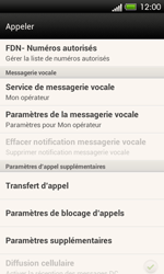 HTC C525u One SV - Messagerie vocale - configuration manuelle - Étape 6