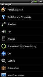 HTC Z710e Sensation - WLAN - Manuelle Konfiguration - Schritt 4