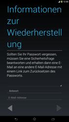 Sony Xperia Z Ultra LTE - Apps - Konto anlegen und einrichten - Schritt 14
