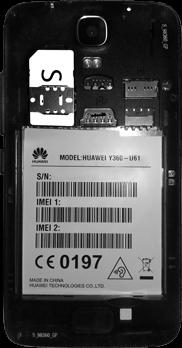 Huawei Y3 - SIM-Karte - Einlegen - 4 / 11
