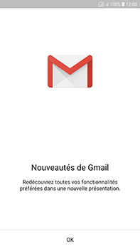 Samsung Galaxy J7 (2017) - E-mail - Configuration manuelle (gmail) - Étape 5