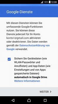 Sony F3211 Xperia XA Ultra - E-Mail - Konto einrichten (gmail) - Schritt 15