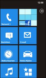 Nokia Lumia 900 - netwerk en bereik - gebruik in binnen- en buitenland - stap 11