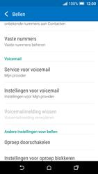 HTC One A9 - Voicemail - handmatig instellen - Stap 5