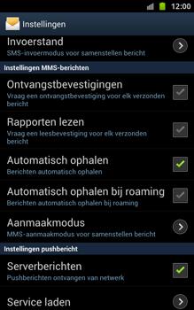 Samsung N7000 Galaxy Note - OS 4 ICS - MMS - probleem met ontvangen - Stap 5