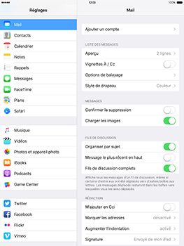 Apple iPad mini 4 iOS 10 - E-mail - Configuration manuelle (gmail) - Étape 4