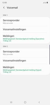 Samsung Galaxy Note 10 - voicemail - handmatig instellen - stap 8