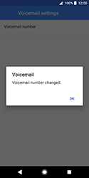 Sony Xperia XZ2 Compact - Voicemail - Manual configuration - Step 11