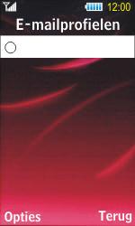 Samsung S7350 Ultra Slide - E-mail - Handmatig instellen - Stap 16