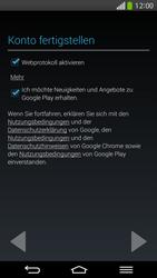 LG G Flex - Apps - Konto anlegen und einrichten - 18 / 26