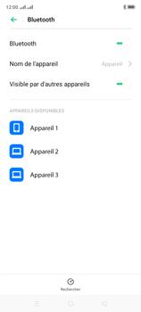 Oppo A9 2020 - Internet et connexion - Connexion avec un équipement multimédia via Bluetooth - Étape 7