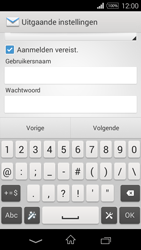 Sony D2203 Xperia E3 - E-mail - Handmatig instellen - Stap 13
