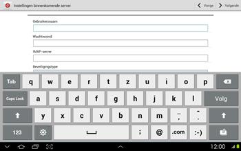 Samsung P5100 Galaxy Tab 2 10-1 - E-mail - Handmatig instellen - Stap 7