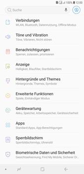 Samsung Galaxy J4+ - Netzwerk - Netzwerkeinstellungen ändern - Schritt 4