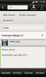 HTC C525u One SV - E-mail - e-mail versturen - Stap 15