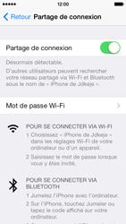 Apple iPhone 5s - Internet et connexion - Partager votre connexion en Wi-Fi - Étape 6