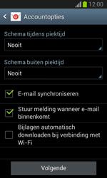 Samsung S7390 Galaxy Trend Lite - E-mail - Handmatig instellen - Stap 18
