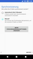 Sony Xperia XZ1 Compact - E-Mail - Konto einrichten - Schritt 20