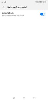 Huawei P20 - Android Pie - Netzwerk - Manuelle Netzwerkwahl - Schritt 6