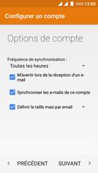 Wiko Freddy - E-mails - Ajouter ou modifier un compte e-mail - Étape 23