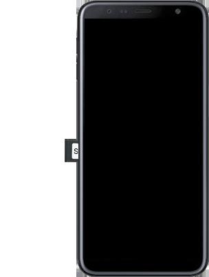 Samsung Galaxy J6 Plus - Premiers pas - Insérer la carte SIM - Étape 5
