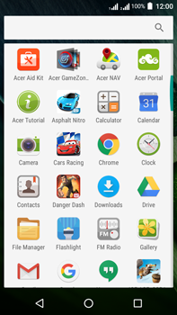 Acer Liquid Zest 4G Plus DualSim - Internet - Internet browsing - Step 2