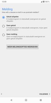 Sony Xperia XZ3 - E-mail - Handmatig instellen - Stap 21
