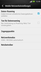 HTC One - Ausland - Auslandskosten vermeiden - 0 / 0