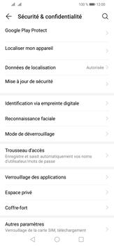 Huawei P30 Lite - Sécurité - activéz le code PIN de l'appareil - Étape 4