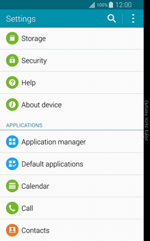 Samsung Galaxy Note Edge - Applications - How to uninstall an app - Step 4
