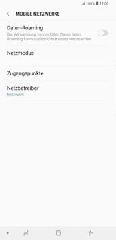 Samsung Galaxy S9 Plus - Ausland - Auslandskosten vermeiden - Schritt 9
