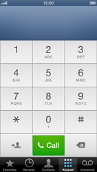Apple iPhone 5 - Voicemail - Manual configuration - Step 4