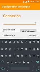 Alcatel U5 - E-mails - Ajouter ou modifier votre compte Outlook - Étape 8