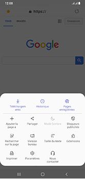 Samsung Galaxy A10 - Internet - navigation sur Internet - Étape 19