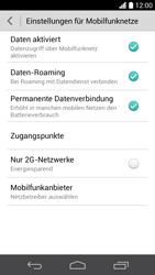 Huawei Ascend P6 - Internet und Datenroaming - Deaktivieren von Datenroaming - Schritt 5