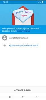 Samsung Galaxy A40 - E-mails - Ajouter ou modifier votre compte Gmail - Étape 13