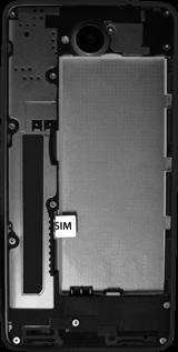 Microsoft Lumia 650 - SIM-Karte - Einlegen - Schritt 3