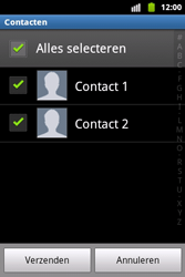 Samsung S5690 Galaxy Xcover - contacten, foto