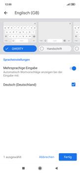 Xiaomi RedMi Note 7 - Startanleitung - So fügen Sie eine Tastatursprache hinzu - Schritt 10