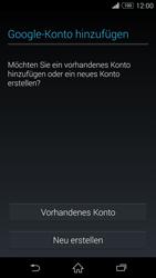 Sony D6603 Xperia Z3 - Apps - Konto anlegen und einrichten - Schritt 4