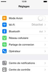 Apple iPhone 4 - Internet et connexion - Utiliser le mode modem par USB - Étape 4
