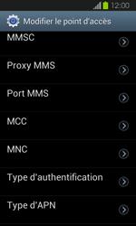 Samsung Galaxy Express - MMS - Configuration manuelle - Étape 14