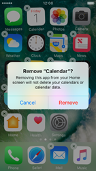 Apple iPhone SE - iOS 10 - iOS features - Delete and Restore default iOS Apps - Step 4