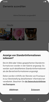 Samsung Galaxy S9 Plus - Android Pie - E-Mail - E-Mail versenden - Schritt 15