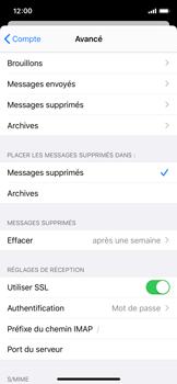 Apple iPhone X - iOS 13 - E-mail - Configuration manuelle - Étape 25