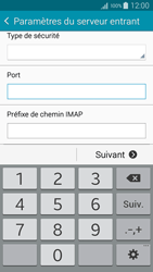 Samsung A500FU Galaxy A5 - E-mail - Configuration manuelle - Étape 11