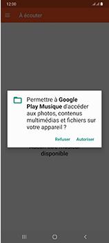 Samsung Galaxy A70 - Photos, vidéos, musique - Ecouter de la musique - Étape 5