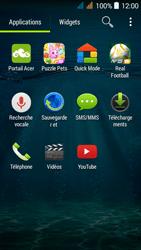Acer Liquid Z520 - Messagerie vocale - configuration manuelle - Étape 3